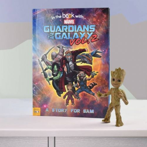 Personalised Marvel's Guardians of the Galaxy 2 Book